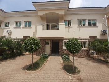 Nice 4 Bedroom Terrace Duplex with a Room Bq, By Nnpc Filling Station, Durumi, Abuja, Terraced Duplex for Sale