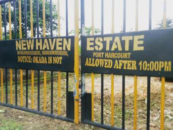 Corner Piece 10 Plots of Land Fully Fenced & Gated in an Estate, New Haven Estate Off Eleme Junction By Enaco Junction, Rumuokwurusi, Port Harcourt, Rivers, Mixed-use Land for Sale