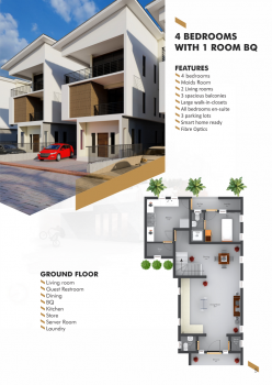 Land for 4 Bedrooms Duplex Plus Maids Room on 2 Suspended Floors, 6th&9th Avenue Edmund Medani Crescent, Mabushi, Abuja, Residential Land for Sale