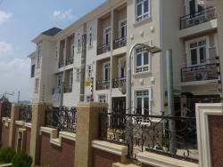 Luxury Serviced 2 Bedroom + Bq + Study Room Terrace, Opposite Next Shopping Mall By Lke View Estate, Kado, Abuja, Terraced Duplex for Rent