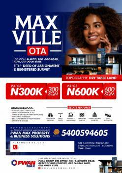 Max Ville, Alapoti, Ado Odo, Ado-odo/ota, Ogun, Mixed-use Land for Sale