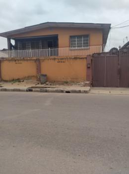 Solid Block of 4 Flats, Off Ishaga Road, Ilasamaja, Mushin, Lagos, Block of Flats for Sale