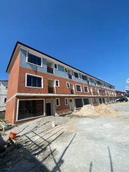 Brand New 4 Bedroom Terrace Detached Duplex with Bq, Osapa, Lekki, Lagos, Terraced Duplex for Rent