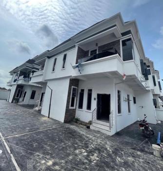 Four Bedroom Semidetached Duplex, Lafiaji, Lekki, Lagos, Semi-detached Duplex for Rent