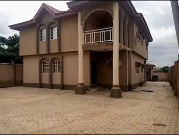 4 Bedroom Duplex with a 2 Bedroom Bq Side Back on a Full Plot of Land., Akute Road Ishola Close, Akute, Ifo, Ogun, Detached Duplex for Sale