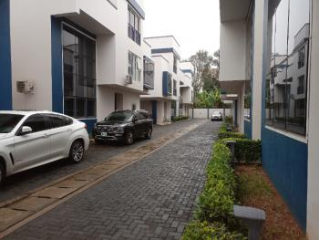 Luxury 4 Bedroom Serviced Terrace House with Staff Quarters, Off Bourdillon Road, Ikoyi, Lagos, Terraced Duplex for Rent