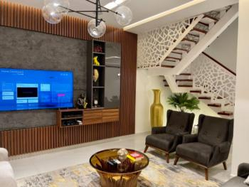 Furnished Luxurious 5 Bedroom Terraced Duplex, Guzape District, Abuja, Terraced Duplex for Sale