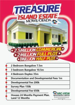 a Fantastic Fully Finished Semi Detached 2 Bedroom Bungalow, Treasure Island Estate, Mowe Ofada, Ogun, Semi-detached Bungalow for Sale