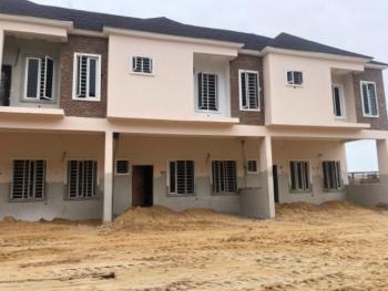 Newly Built, Spacious 3 Bedroom Duplex with Bq in a Gated Estate, Chevron Toll Gate, Orchid Road, Lafiaji, Lekki, Lagos, Terraced Duplex for Sale