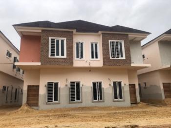 Newly Built, Spacious 4 Bedroom Semi-detached Duplex in a Gated Estate, Chevron Toll Gate, Orchid Road, Lafiaji, Lekki, Lagos, Semi-detached Duplex for Sale