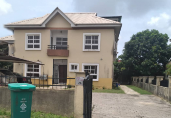 5 Bedroom Detached House with 2 Rooms Bq Sitting on 800sqm Land, Northern Foreshore Estate, Chevron, Lekki, Lagos, Detached Duplex for Sale