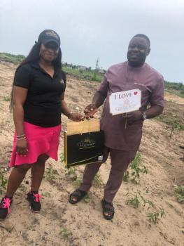Land with Good Title and Secured, Lepia Town, Ibeju Lekki, Lagos, Residential Land for Sale