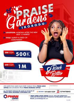 Land, No 1, Agbowa, Ikorodu, Lagos, Mixed-use Land for Sale