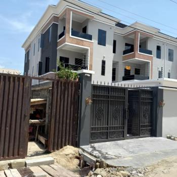 Newly Built Self Serviced 4 Bedroom Terrace House with a Room Bq, Off Oniru Palace Road, Oniru, Victoria Island (vi), Lagos, Terraced Duplex for Rent