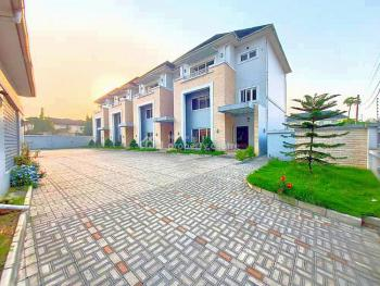 Executive Luxury Serviced 4 Bedroom Duplex with 1 Room Bq, Off Tombia Extension, Gra Phase 3, Port Harcourt, Rivers, Semi-detached Duplex for Rent