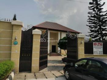 Executive Luxury Detached 5 Bedroom Duplex with 3 Rooms Bq, Old Gra, Port Harcourt, Rivers, Detached Duplex for Rent