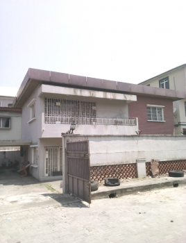 a Solid Fully Detached Duplex, Off Awolowo Road, Ikoyi, Lagos, Detached Duplex for Sale