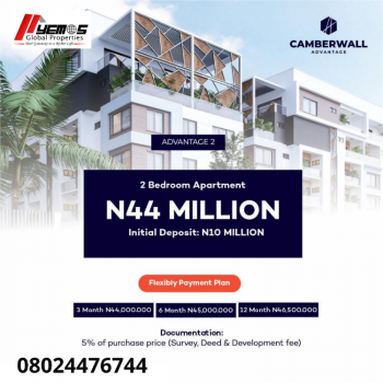 2 Bedroom Apartment, Lekki, Lagos, Semi-detached Duplex for Sale