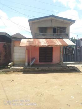 Standard Block of 4 Number 2 Bedroom on Half Plot of Land.gated Street, Egbeda By Bamishile Shasha, Egbeda, Alimosho, Lagos, Block of Flats for Sale