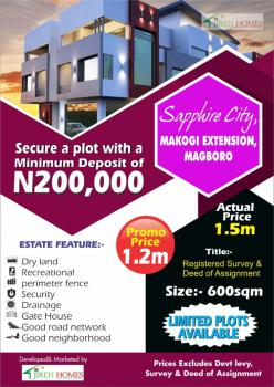 Affordable Plot of Land, Makogi Extension  Close to Mainland, Magboro, Ogun, Mixed-use Land for Sale