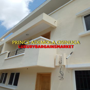 Highly Serene & Reasonably Priced New 4 Bedroom Terrace, Parkview, Ikoyi, Lagos, Terraced Duplex for Rent