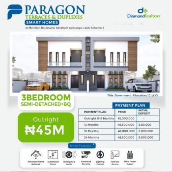 Luxury 3 Bedroom Semi-detached, Ogombo Road, Ajah, Lagos, Semi-detached Duplex for Sale