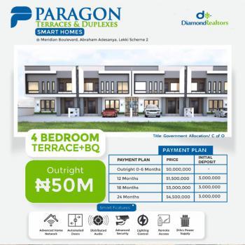 Luxury 4 Bedroom Terrace Duplex Plus Bq, Ogombo Road, Ajah, Lagos, Terraced Duplex for Sale