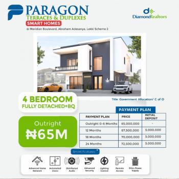 Luxury 4 Bedroom Fully Detached Duplex, Ogombo Road, Ajah, Lagos, Detached Duplex for Sale