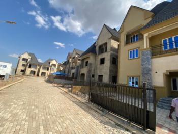 a Solidly Built Pre-finished Gated Townhouse/elevator Shaft, Guzape District, Abuja, Semi-detached Duplex for Sale