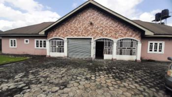 Well Located and Nicely Built Bungalow, Aker Road, Off Iwofe Road, Rumolumeni, Port Harcourt, Rivers, Semi-detached Bungalow for Sale