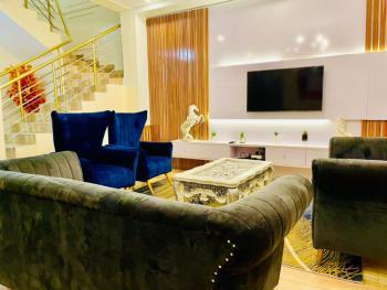Modern Units of 4 Bedroom Apartments, Ademola Eletu Street, Osapa, Lekki, Lagos, Semi-detached Duplex Short Let