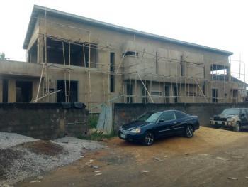 a Carcass 4 Bedroom Semi-detached Duplex, Gbagada Phase 1, Gbagada, Lagos, Semi-detached Duplex for Sale