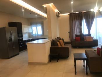 Serviced & Furniished 3 Bedroom Flat, Bq, Pool, Gym, Lift, Gardens, Maitama District, Abuja, Flat for Rent