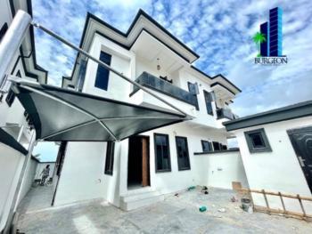 Brand New 4 Bedrooms +1bq Semi Detached Duplex, 2nd Toll Gate,chevron Axis, Lekki, Lagos, Semi-detached Duplex for Sale