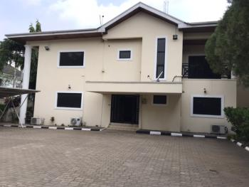 Well Refurbished 5 Bedroom Duplex with 2 Rooms Domestic Quarters, Off Ibb Boulevard Way, Maitama District, Abuja, Detached Duplex for Rent
