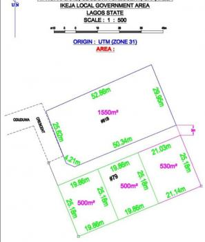 Partitioned 1800sqm, Ikeja Gra, Ikeja, Lagos, Residential Land for Sale