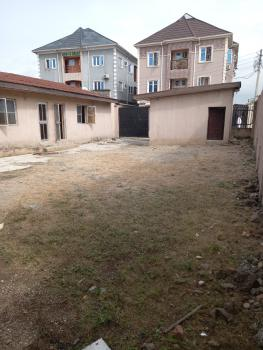 a Well Spacious Self Compound Bungalow, Off Abule Ijesha Road, Yaba, Lagos, Detached Bungalow for Rent