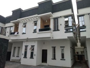 4 Bedroom Semi-detached Duplex with a Bq, Chevron, Conservative Centre, Lekki, Lagos, Semi-detached Duplex for Sale
