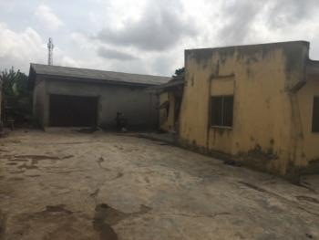 a Bungalow with 2 Sets of Flats on 1000sqm with Governors Consent, Off Amikanle Road, Alagbado, Ifako-ijaiye, Lagos, Block of Flats for Sale