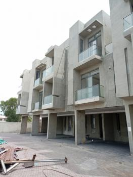 Luxury Built 4 Bedroom Duplex with a Room Boys Quarter, Lekki Phase 1, Lekki, Lagos, Terraced Duplex for Sale