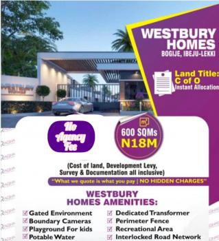 Land with C of O in Fast Growing Area, Bogije Area, Ibeju Lekki, Lagos, Residential Land for Sale