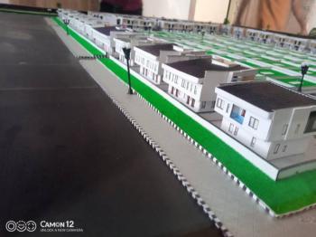 Luxury 2 Bedroom Terrace with Bq, Fairmont Garden, Lekki Scheme 2 Axis, Lekki, Lagos, Terraced Bungalow for Sale