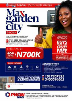 Land, Oke Oyi, Jebba Road, Ilorin East, Kwara, Mixed-use Land for Sale