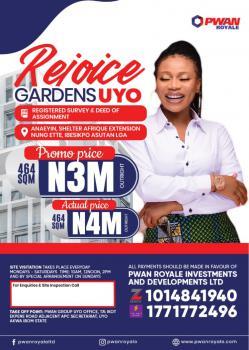 C of O Land, Rejoice Garden, Anaeyin Shelter Afrique Extension, Nung Ette Ibesikpo, Uyo, Akwa Ibom, Mixed-use Land for Sale