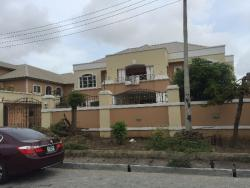 Majestic 6 Bedroom Mansion Sitting On 1100 Sqm With A Swimming Pool And 3 Room Bq, Lekki Phase 1, Lekki, Lagos, 6 bedroom, 7 toilets, 6 baths Detached Duplex for Sale