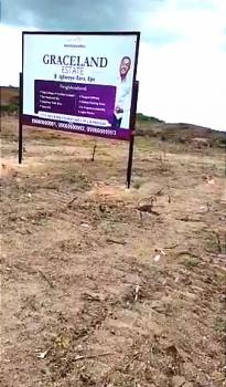 Dry Investment Land. Verified Company. Full Plot. Dry. No Omonile, Graceland Estate, Igbooye-ilara, Epe, Lagos, Residential Land for Sale