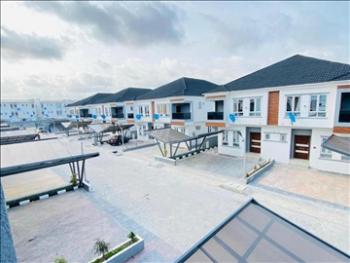 New & Serviced 5 Bedroom Semi-detached House in Community Estate, Alma Beach Estate, Ikate Elegushi, Lekki, Lagos, Semi-detached Duplex for Sale