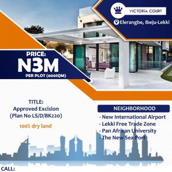 100% Dry Land with Instant Allocation for Buy & Build, Victoria Court, Eleranigbe, Ibeju Lekki, Lagos, Residential Land for Sale