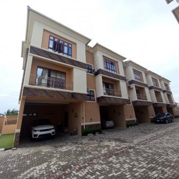 Luxury Bargains 4 Bedroom Terrace Duplex with a Bq, Shoprite Area, Osapa, Lekki, Lagos, Terraced Duplex for Sale