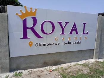 Land, Olomowewe, Royal Garden Estate, Ibeju Lekki, Lagos, Mixed-use Land for Sale